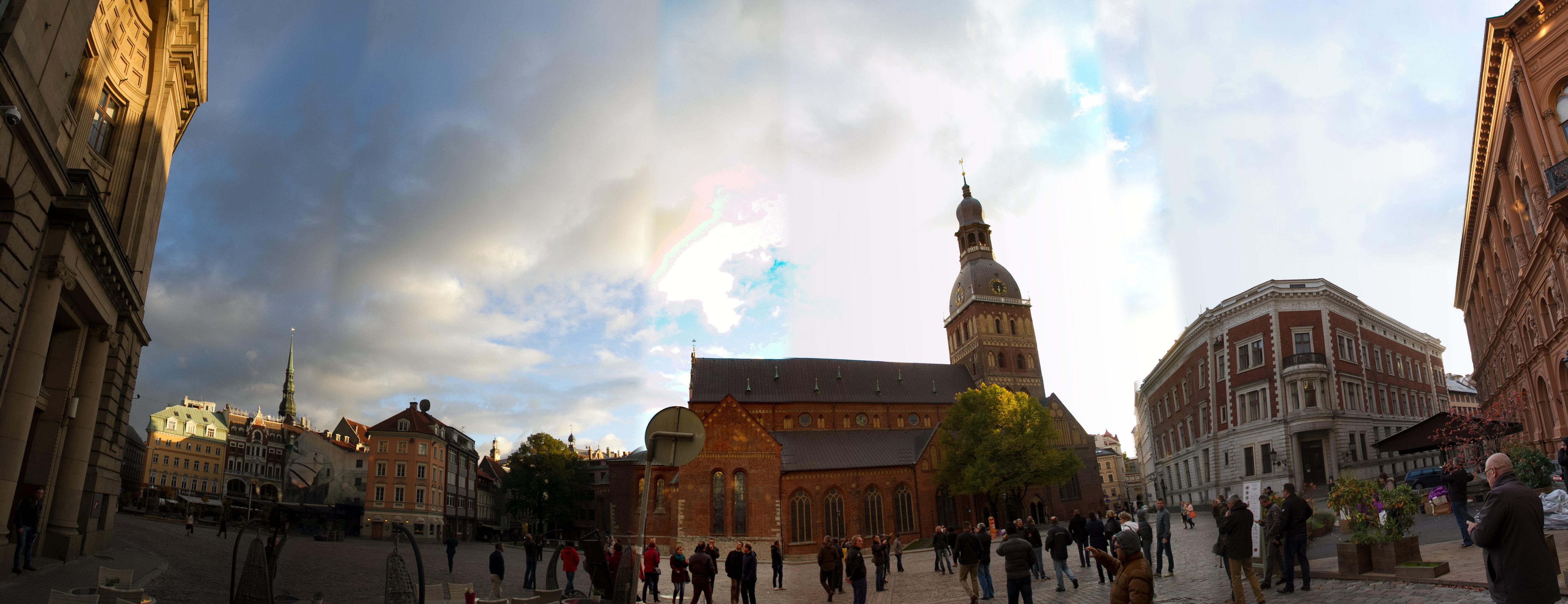 Marktplatz-Riga