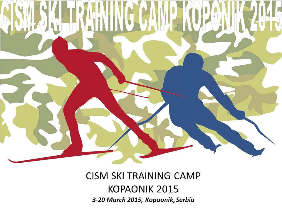 CISM Skiing Training Camp 2015