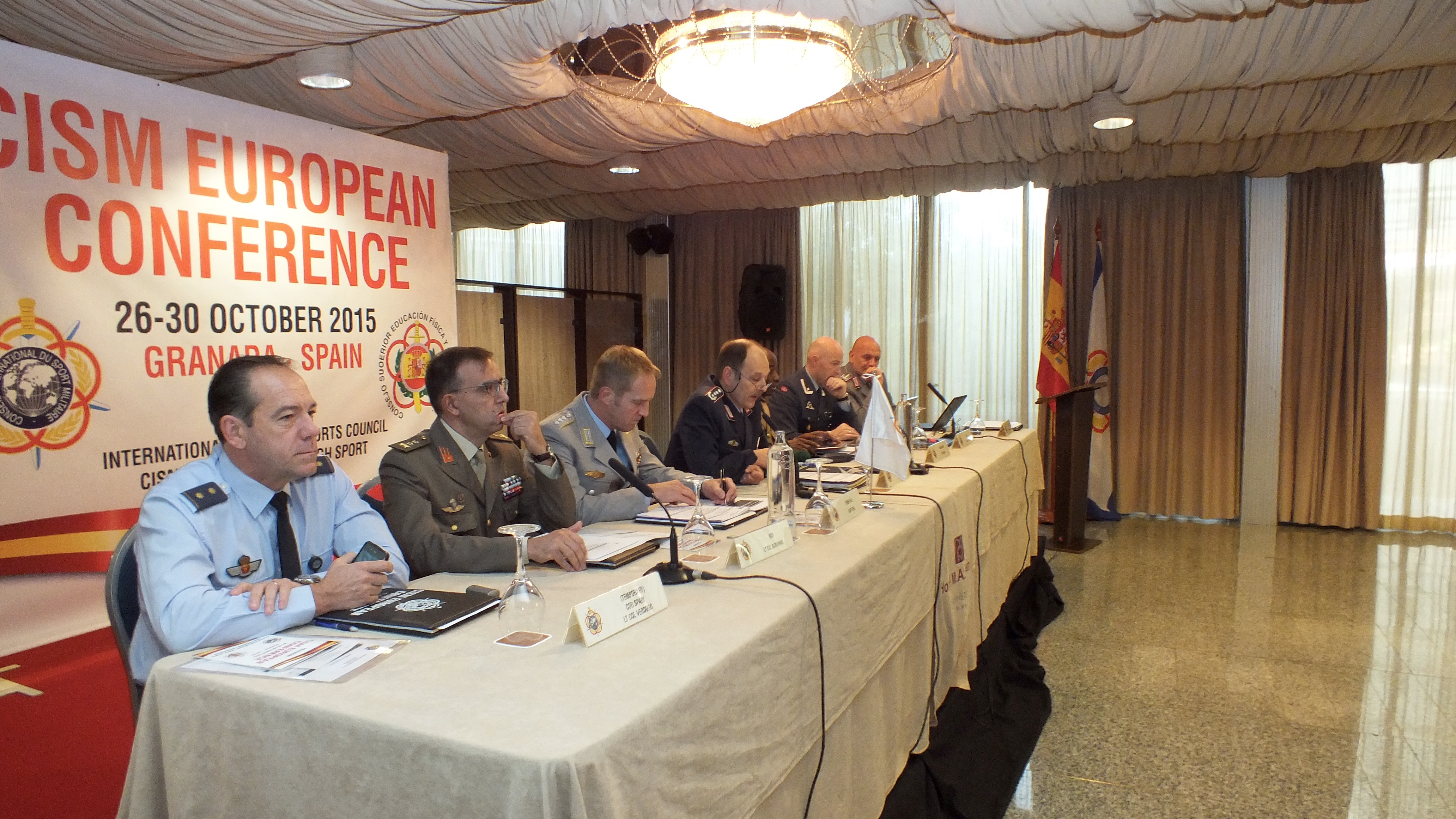 Presidency of the European Conference in Granada