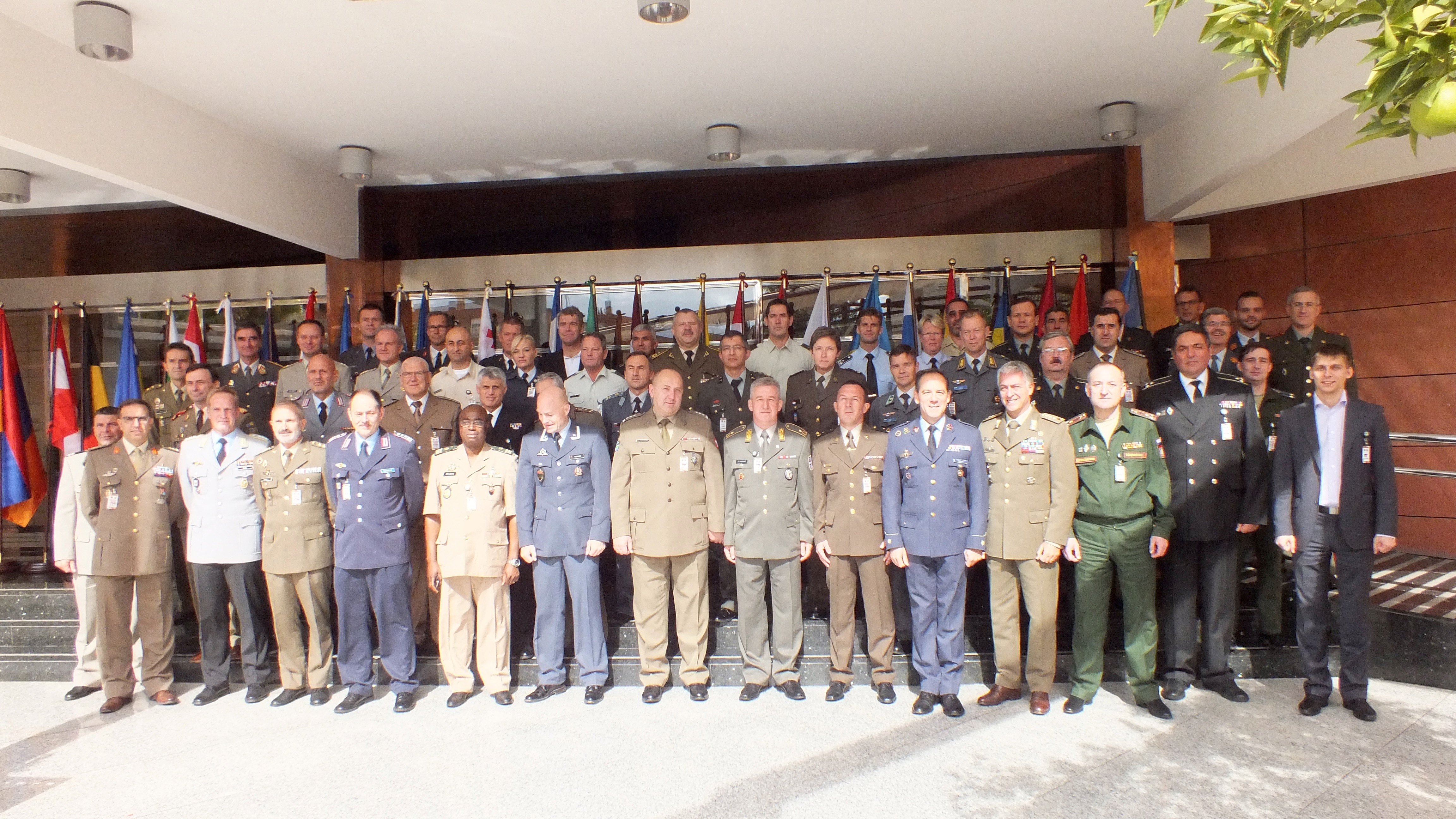 CISM European Conference Participants in Granada
