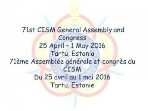 71th_CISM_GA