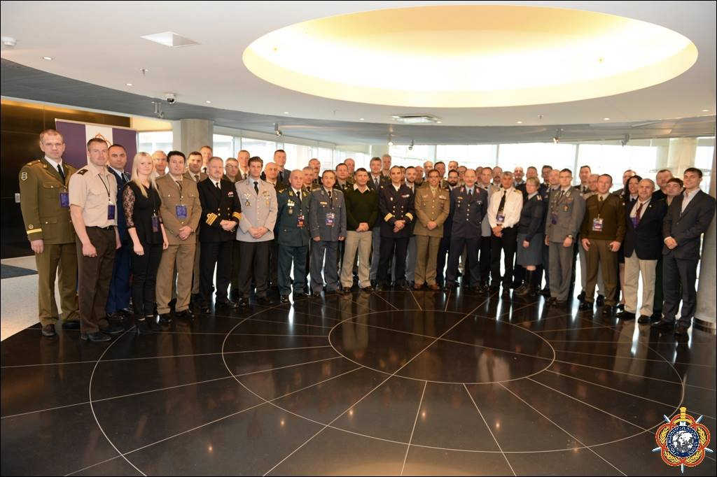 CISM European Conference Participants at the General Assembly in Tartu