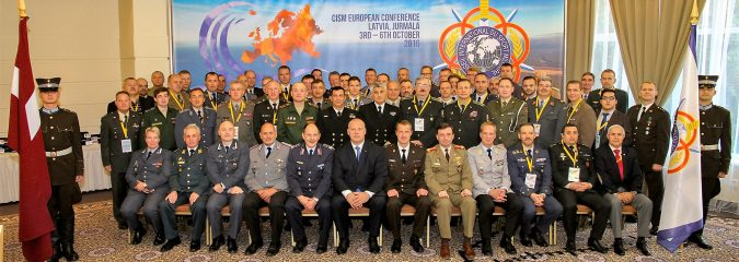 CISM European Conference Participants in Jurmala
