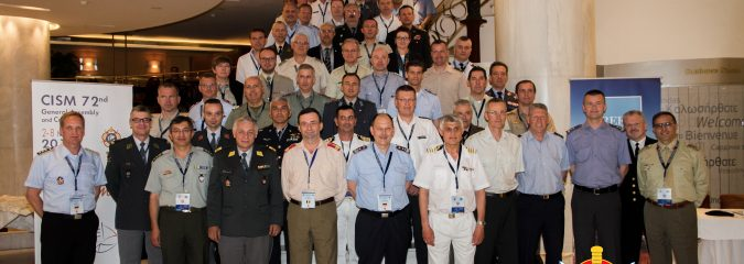 CISM European Conference Participants at the General Assembly in Athens