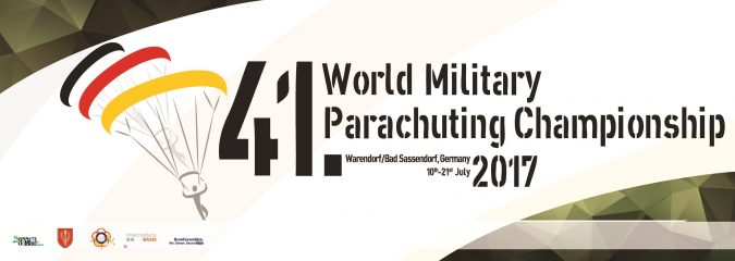 Next event 41st World Military Parachuting Championship