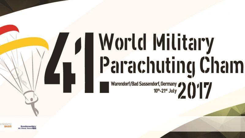 Next event 41st World Military Parachuting Championship