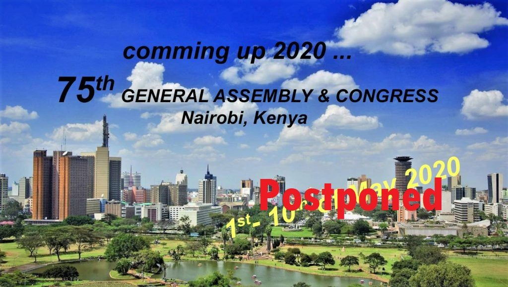General Assembly & Congress 2020 Postponed